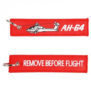 Klíčenka REMOVE BEFORE FLIGHT / AH-64