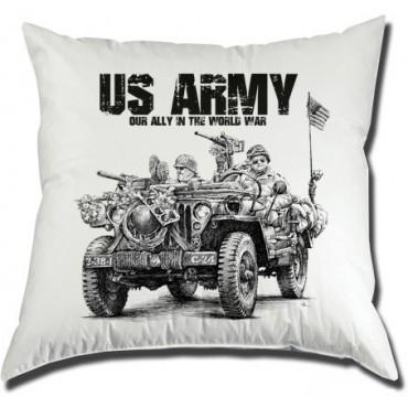 Polštář US Army Jeep