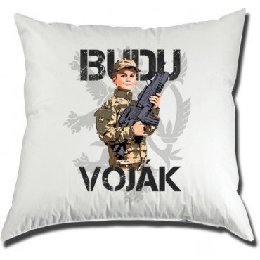 Polštář Budu voják