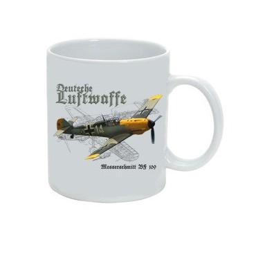 Hrnek Deutche Luftwaffe Bf-109