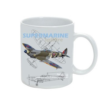 Hrnek Supermarine Spitfire