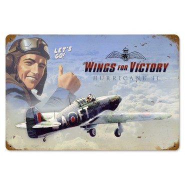 Wings for victory Hurricane II