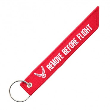 REMOVE BEFORE FLIGHT bomber style