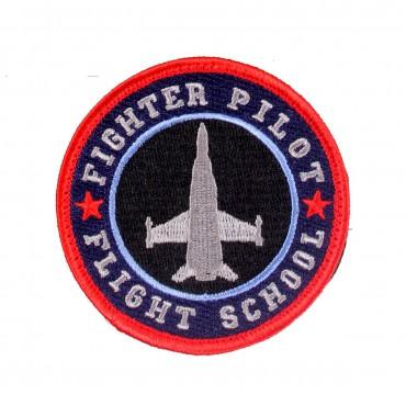 FIGHTER PILOT FLIGHT SCHOOL velcro