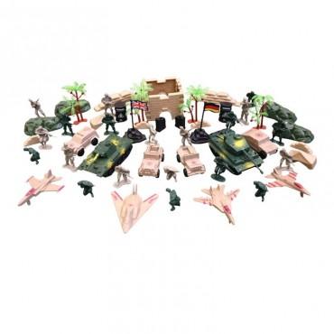 Sada hraček - plastových modelů KOMBAT FORCE
