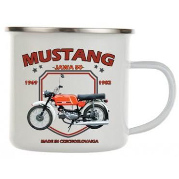 Jawa Mustang plecháček