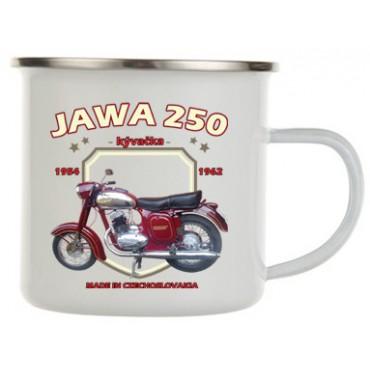 Jawa 250 kývačka plecháček