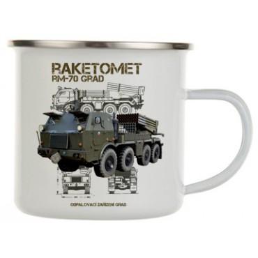 RAKETOMET RM-70 GRAD plecháček