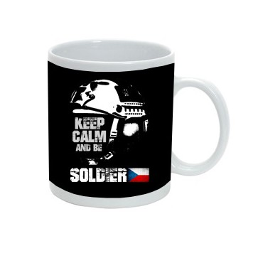 KEEP CALM AND BE SOLDIER