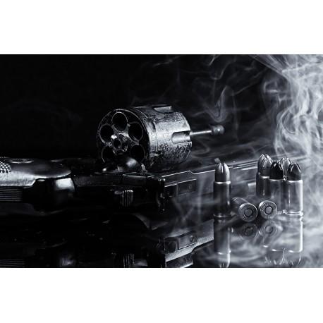 Gun Revolver Pistol Weapon